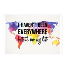 I Haven't Been Everywhere But It's On My List Post