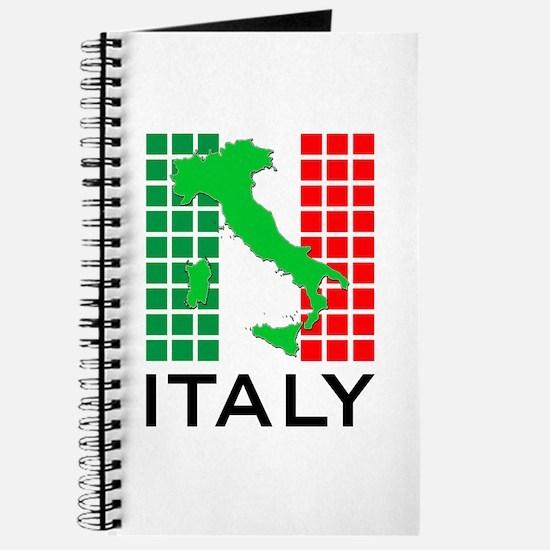 italy flag 03 Journal