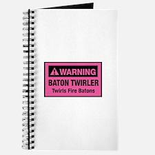 Fire Baton Twirler Journal
