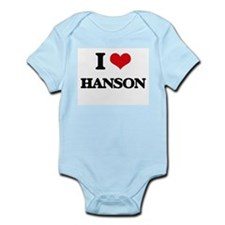 I Love Hanson Body Suit