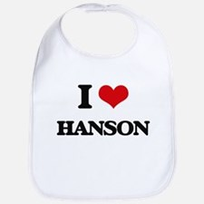 I Love Hanson Bib