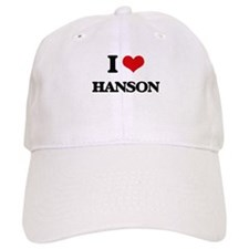 I Love Hanson Baseball Cap