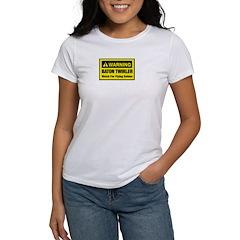 WARNING Baton Twirler Tee