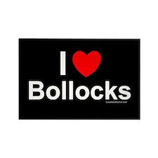 Bollocks Rectangle Magnet