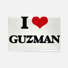 I Love Guzman Magnets