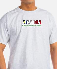 Acadia is where LARGE T-Shirt