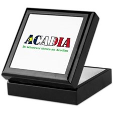Acadia is where LARGE Keepsake Box