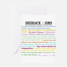 Sherlock-isms Greeting Cards