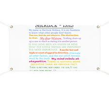Sherlock-isms Banner