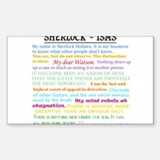 Sherlock-isms Decal