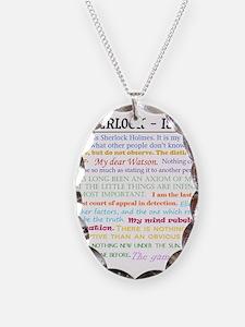 Sherlock-isms Necklace