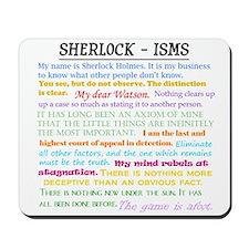 Sherlock-isms Mousepad