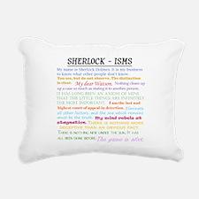 Sherlock-isms Rectangular Canvas Pillow