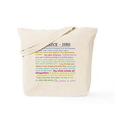 Sherlock-isms Tote Bag