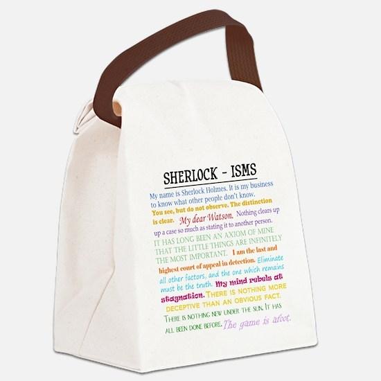 Sherlock-isms Canvas Lunch Bag