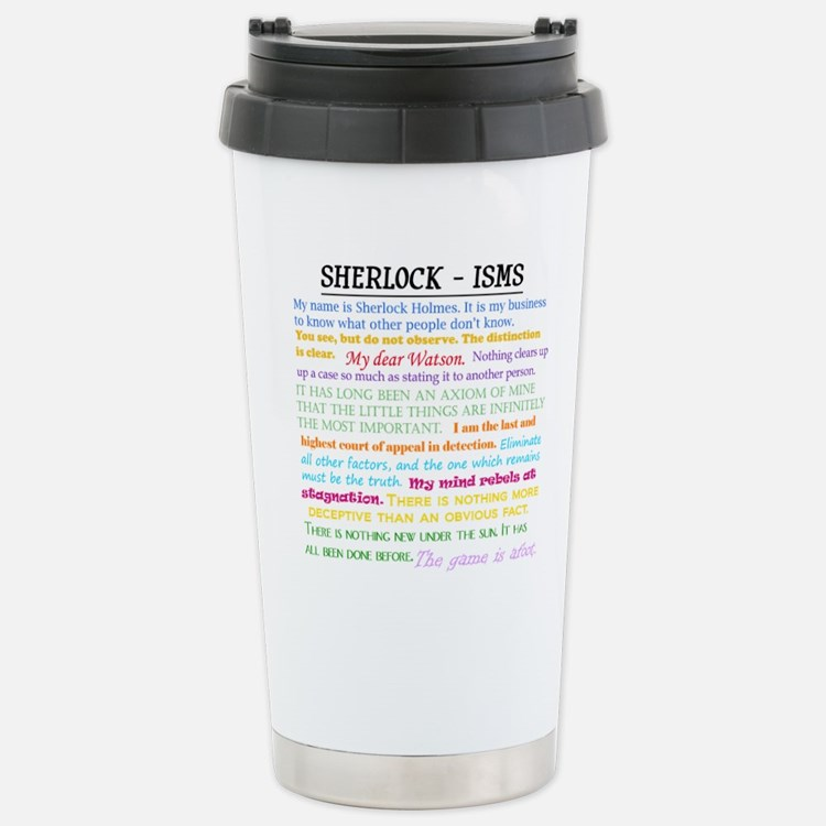 Sherlock-isms Travel Mug