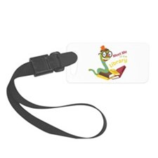 Meet me at the library Luggage Tag