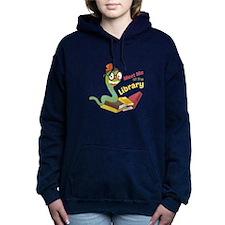 Meet me at the library Women's Hooded Sweatshirt
