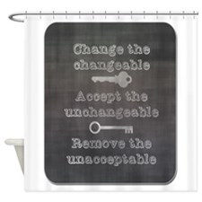Change the Changeable Shower Curtain