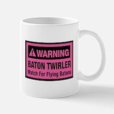 WARNING Baton Twirler Mug