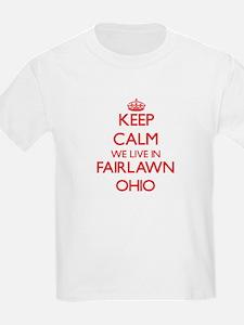 Keep calm we live in Fairlawn Ohio T-Shirt