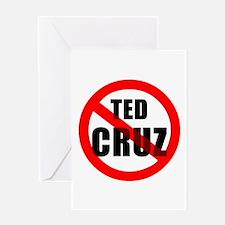 No Ted Cruz Greeting Cards