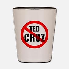 No Ted Cruz Shot Glass