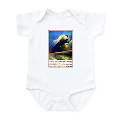 NY to Chicago Infant Bodysuit