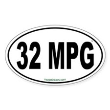 32 MPG Euro Decal