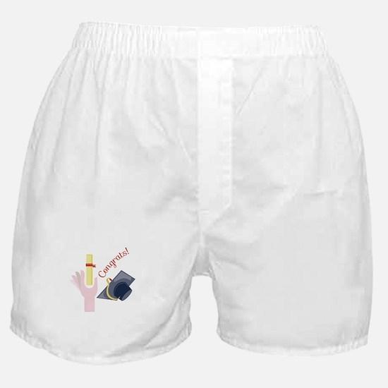 Congrats! Boxer Shorts