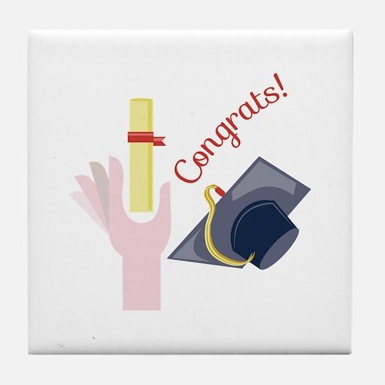 Congrats! Tile Coaster