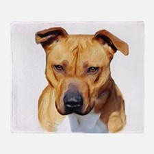 Pitbull Throw Blanket