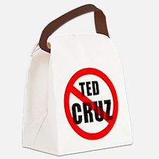 No Ted Cruz Canvas Lunch Bag