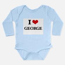 I Love George Body Suit