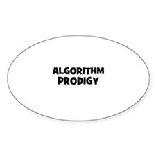 Algorithm Prodigy Oval Decal