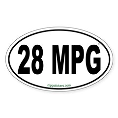 28 MPG Euro Decal