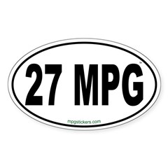 27 MPG Euro Decal