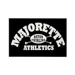 Majorette Athletics Rectangle Magnet