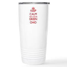 Keep calm we live in Gr Travel Mug