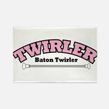 TWIRLER Rectangle Magnet