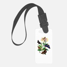 BUTTERFLIES AND HONEYSUCKLE Luggage Tag