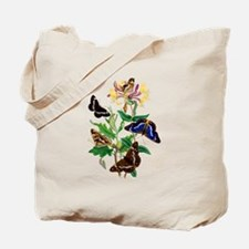 BUTTERFLIES AND HONEYSUCKLE Tote Bag