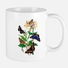 BUTTERFLIES AND HONEYSUCKLE Mug