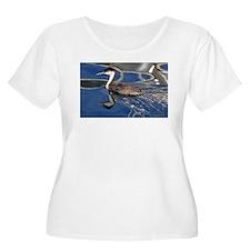 Grebe Plus Size T-Shirt