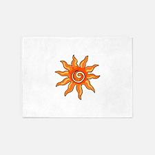 SUN 5'x7'Area Rug