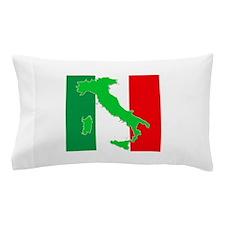 italy flag 06 Pillow Case
