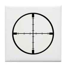 Crosshair Tile Coaster