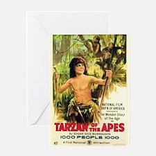tarzan Greeting Card