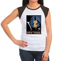 NY Jazz Women's Cap Sleeve T-Shirt