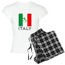 italy flag 00 pajamas
